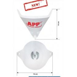 250 filtres cône en nylon 190µ micron pour filtrage peinture apprêt vernis