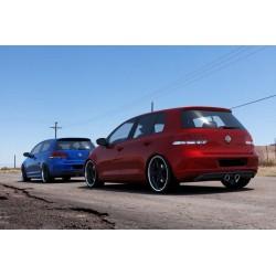 RAJOUT DU PARE-CHOCS ARRIÈRE VW Golf V R32 Look pour VW Golf VI