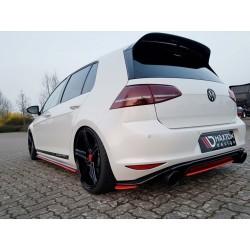 CENTRAL ARRIÈRE SPLITTER VW GOLF MK7 GTI CLUBSPORT