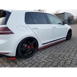 SET DES DIFFUSEUR DES BAS DE CAISSE VW GOLF MK7 GTI CLUBSPORT