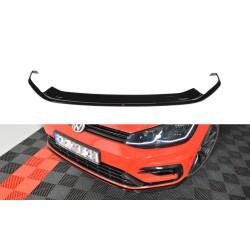 LAME DU PARE-CHOCS AVANT / SPLITTER V.7 VW GOLF 7 R FACELIFT