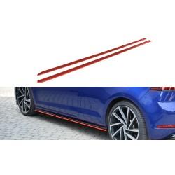 SET DES DIFFUSEUR DES BAS DE CAISSE V.2 VW GOLF 7 R FACELIFT