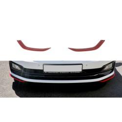 LAME DU PARE-CHOCS AVANT / SPLITTER V.5 VW POLO MK6 GTI