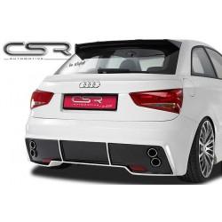 Pare choc arrière, échappement sport, rajout hayon arrière pour Audi A1