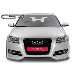 Extension de pare-chocs avant pour Audi A3 8P / 8PA