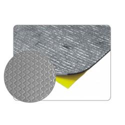 10 plaques de bitume insonorisante pare chaleur adhésive 500mm x 500mm