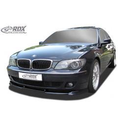 Lame de pare choc avant VARIO-X pour BMW Série 7 E65 / E66 2005+