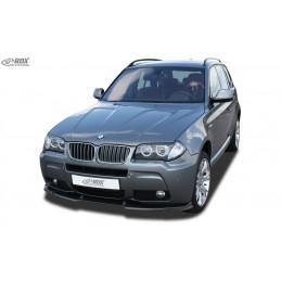 Lame de pare choc avant VARIO-X pour BMW X3 E83 M-Technik 2006 +