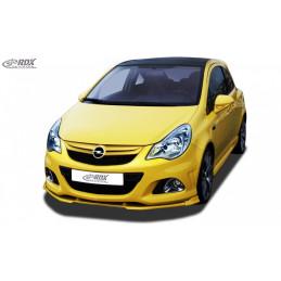 Lame de pare choc avant VARIO-X pour OPEL Corsa D Facelift OPC 2010+