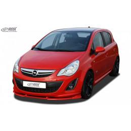 Lame de pare choc avant VARIO-X pour OPEL Corsa D Facelift OPC-Line 2010+