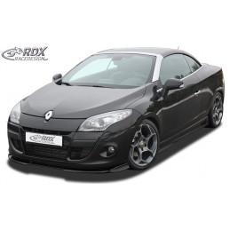 Lame de pare choc avant VARIO-X pour RENAULT Megane 3 coupé / cabriolet / CC (-2012)
