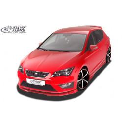 Lame de pare choc avant VARIO-X pour SEAT Leon 5F FR + Cupra -2017 (également SC et ST)