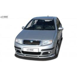 Lame de pare choc avant VARIO-X pour SKODA Fabia 1 (6Y) 2004+ (pas GT / RS)