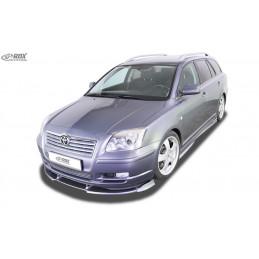 Lame de pare choc avant VARIO-X pour TOYOTA Avensis (T25) 2003-2006
