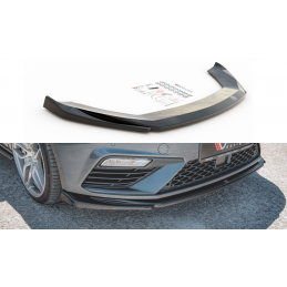 LAME DU PARE-CHOCS AVANT V.5 SEAT LEON CUPRA / FR MK3 FL