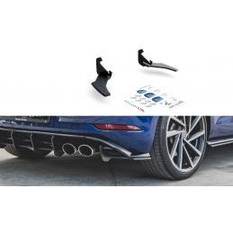 SPORT DURABILITÉ LAME DU PARE CHOCS ARRIERE VW GOLF 7 R FACELIFT