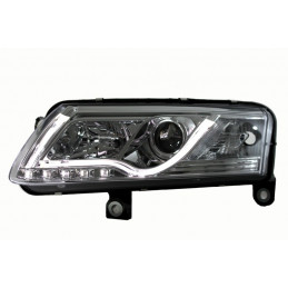 Phares Audi A6 4F 04-08 Tube Light LED chrome