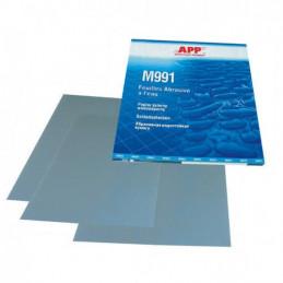 Feuilles abrasives à l'eau format 230 X 280mm