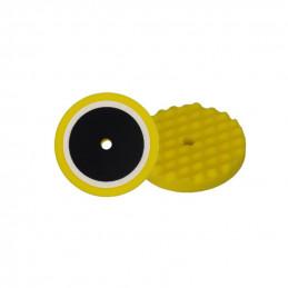 Mousse de polissage profile ondulé d210 / Velcro - jaune - universel