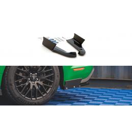 LAMES DE PARE-CHOCS ARRIÈRE LATÉRALES + AILERONS V.1 FORD MUSTANG GT MK6 FACELIFT