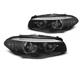 Phares BMW 5-Serie F10 F11 10-13 Dynamic 3D LED Xenon Black