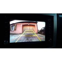 Montage radar de recul sur autoradio