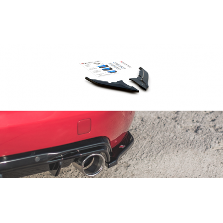 LAMES DE PARE-CHOCS ARRIÈRE LATÉRALES PEUGEOT 308 GT MK2 FACELIFT