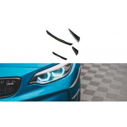 AILES DE PARE-CHOCS AVANT (CANARDS) BMW M2 F87