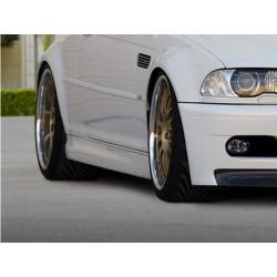 SET DES BAS DE CAISSE BMW 3 E46 COUPE & CABRIO M3 LOOK