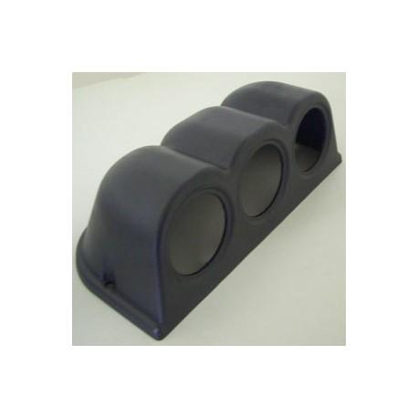 Support pour 3 instruments 52 mm noire