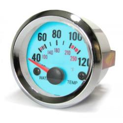Manométre de température d'eau 52mm plasma