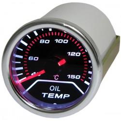 Manométre de température d'huile 52mm Tenzo Race