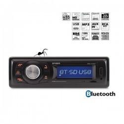 AUTORADIO MP3 USB SD ENTREE AUXILIAIRE 4x55W BT