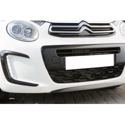Rajout du pare choc avant noir Citroën C1 II de 07/2014