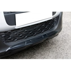 Rajout de pare choc avant + arrière noir y compris les entrées noires et les garnitures d'échappement Citroën C3 2016-