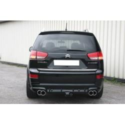 Tablier arrière pour système d'échappement gauche droite avec attelage Citroën C-Crosser 2007-2012