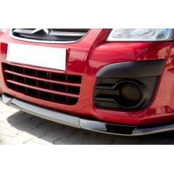 Lame de pare choc avant look carbone pour Citroën C2 2003-2009