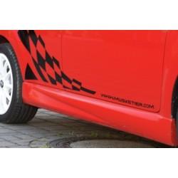 Jupes latérales Peugeot 107 2 portes à hayon 2005-2014