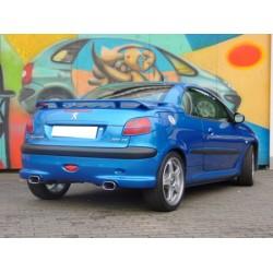 Becquet arrière pour Peugeot 206 CC 2003-2012