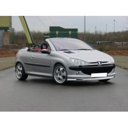 Lame de pare choc avant petites entrée d'air Peugeot 206 2003-2012