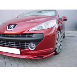 Lame de pare choc avant petites entrée d'air Peugeot 207 tous modèles 2006-2015