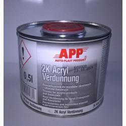 diluant acrylique normal 0,5l