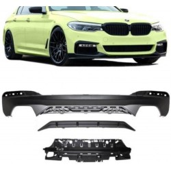 RAJOUT DU PARE-CHOCS ARRIERE SPORT-PERFORMANCE BMW 5ER G30 G31 WITH M-PACKAGE