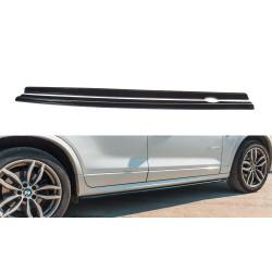 SET DES DIFFUSEUR DES BAS DE CAISSE BMW X3 F25 M-PACK FACELIFT