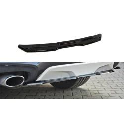 CENTRAL ARRIÈRE SPLITTER BMW X4 M-PACK (SANS UNE BARRE VERTICALE)