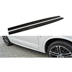 RAJOUTS DES BAS DE CAISSE POUR BMW X4 M-PACK