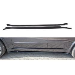 SET DES DIFFEUSEUR DES BAS DE CAISSE BMW X5 E70 FACELIFT M-PACK
