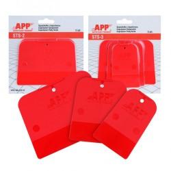 kit de 2 spatules en copolymère PE / PP